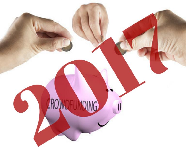 Jaarcijfers crowdfunding in 2017 in Nederland