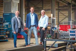 V.l.n.r. Rob Groen, Bjorn Hoejenbos, Hans Struijk.