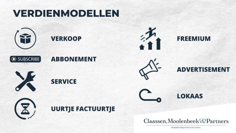 7 verdienmodellen